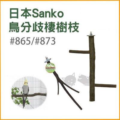 ☆寵輕鬆☆《日本Sanko》鳥分歧棲樹枝#873(大) 站台 啃木