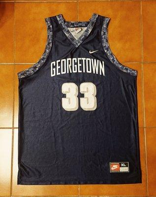 Alonzo Mourning NIKE Georgetown Hoyas 喬治城大學球衣 晨星 AI Iverson