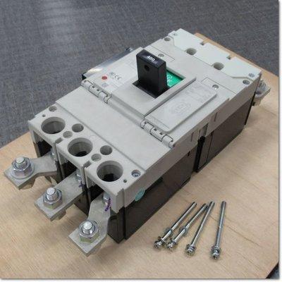 NF400-HDW,3P 400A AX-1LS SLT直流高壓兼容無熔絲斷路器,帶有輔助開關(三菱電機) 中古 二手 NF4OO-HDW,3P NF400HD