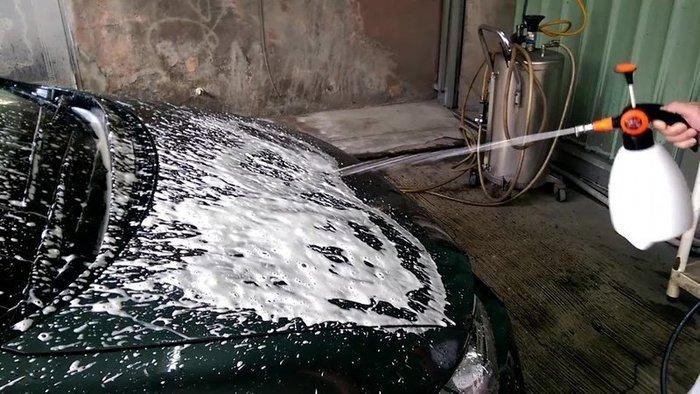 【優洛帕-汽車用品】VANGUARD 鐵甲武士 洗車高泡沫噴瓶 手持式泡沫噴槍 1.5L 洗車美容泡泡瓶 台灣製