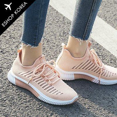 韓國空運【PIF05】透氣網面休閒鏤空輕量運動鞋