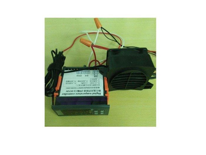 DC12V溫度控制暖風機