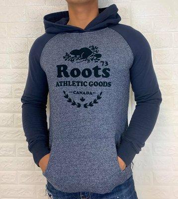 Roots 休閒連帽上衣 長袖上衣 t恤 棉質上衣 RC26040226Q403