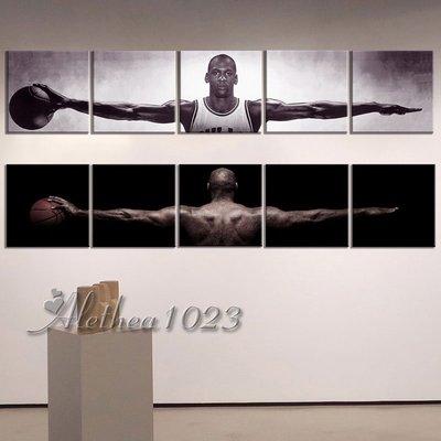 新品~現貨~【Jordan系列】實木框畫 NBA籃球之神 飛人喬丹壁畫 邁克爾喬丹 高清海報 客廳掛畫 居家裝飾 無框畫