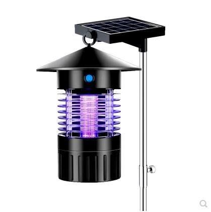 【優上】太陽能滅蚊燈戶外防水全自動庭院花園殺蟲燈「支架款」