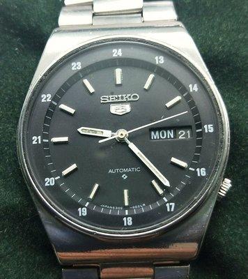 OQ精品腕錶   日本精工機械自動上錶不舍龍頭36MM錶帶含龍頭23公分我是修錶師父請安心選購
