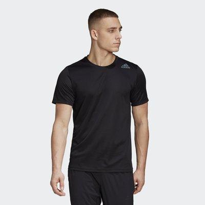 【豬豬老闆】ADIDAS HEAT.RDY 黑色 短袖 短T 透氣 輕量 休閒 運動 慢跑 訓練 男款 FM2093