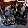 韓版流行夏季新款 波希米亞民族風羅馬鞋 龐克搖滾女涼鞋 楔型厚底高跟金屬色夾腳女鞋(368-2現貨+預購)