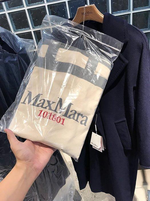 現貨【MAX MARA】18秋冬 101801 MADAME ICON COAT 雙排扣腰帶羊毛長大衣 *25%OFF*