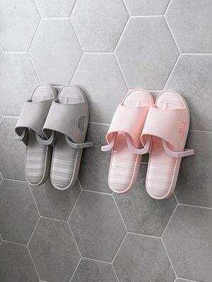 收納 墻上粘貼鞋架浴室壁掛式拖鞋架子家用立體省空間鞋子收納架