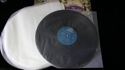 【198樂坊】12吋 黑膠唱片內套 // 抗靜電半圓內套 //100張/包(............)