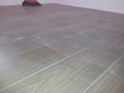 """風格木地板~木地板作品""""胡桃木""""導角晶鑽平面*北部最低價位施工"""