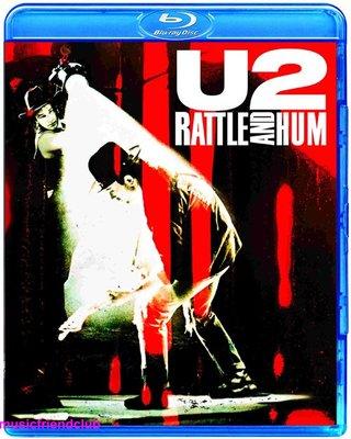 高清藍光碟 U2 Rattle And Hum 神采飛揚-世紀巡迴演唱會 (藍光BD25G)