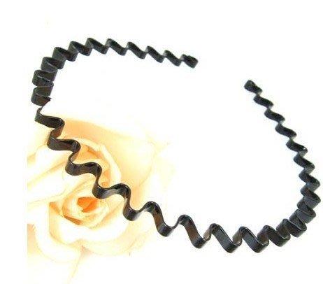 【現貨】UNICO 韓國進口 18鍍烤漆波浪髮箍-男女通用款