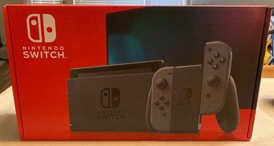 Switch Nintendo 灰色主機 電力加強版  美國機  目前最火的遊戲機