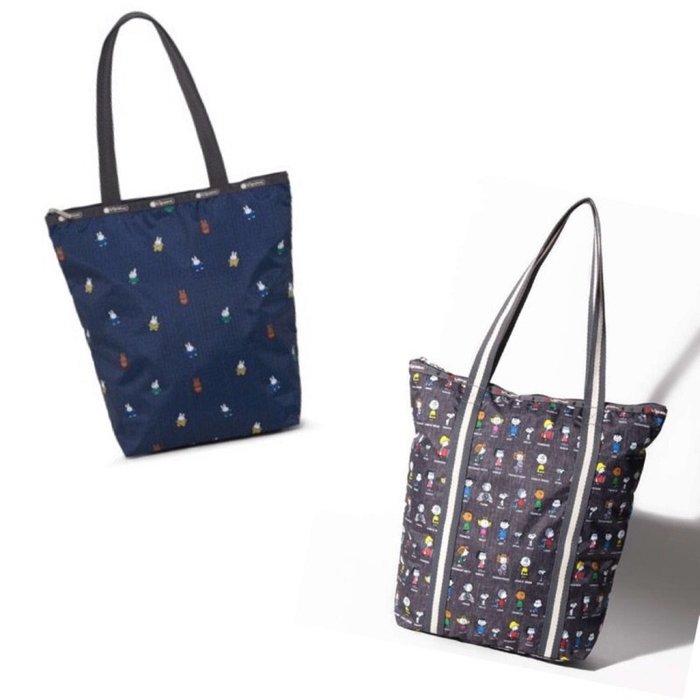 ♥ 小花日韓雜貨 ♥ --Lesportsac 肩背包大包書包出遊逛街包 2432 米飛兔Miffy史努比peanuts