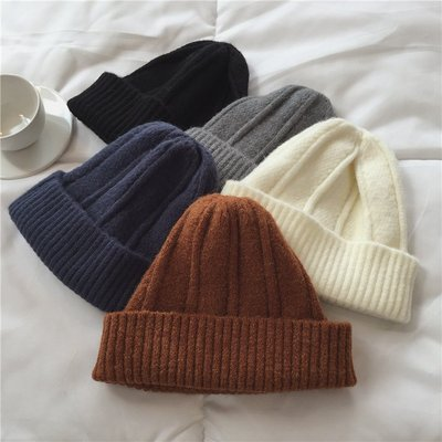 【UBY】30%羊毛帽!扭花紋理厚實針織帽◄No11206
