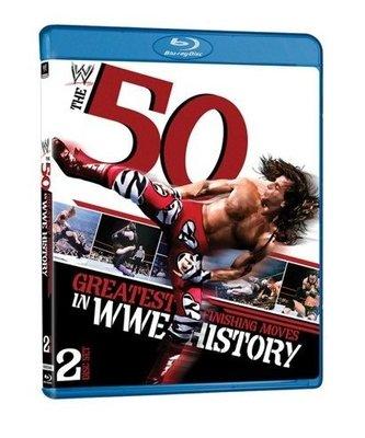 ☆阿Su倉庫☆WWE摔角 50 Greatest Finishing Moves Blu-Ray 史上50大巨星最強終結技精選輯藍光版 HBK UT
