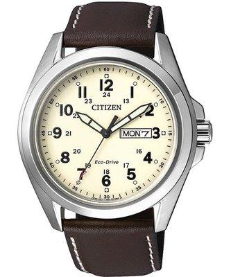 CITIZEN Eco-Drive 光動能復古腕錶(AW0050-15A)-米/ 43mm 新北市