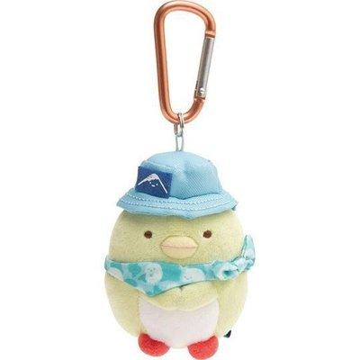 【草莓卡通館】San-X 角落生物 企鵝 絨毛娃娃玩偶吊飾