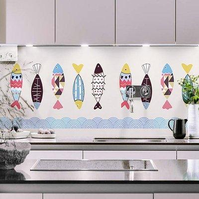 防油貼 廚房防油貼紙 櫃灶台用牆紙耐高溫廚房壁紙 瓷磚牆體牆貼防水自黏JY
