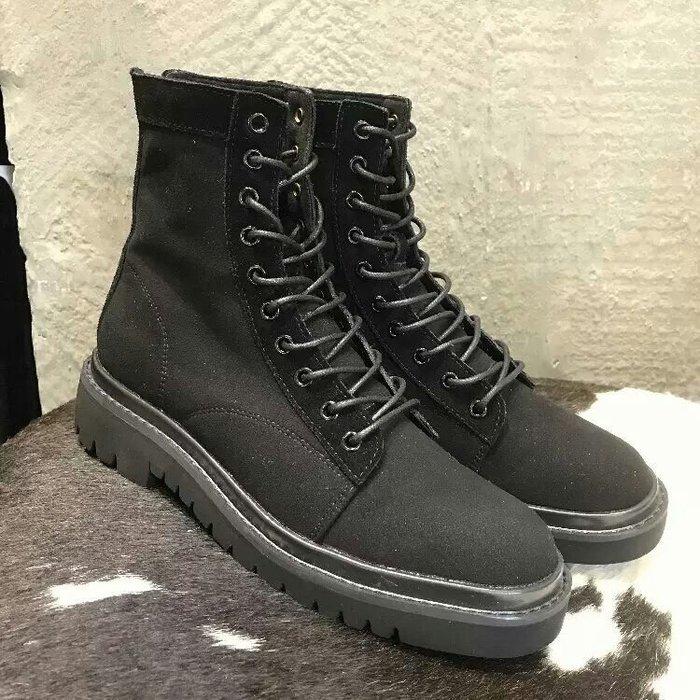 【火熱款雪地靴🔥】復古磨砂圓頭粗跟真皮加絨 繫帶短靴百搭 馬丁靴 英倫 中靴 低跟靴【35-40碼】