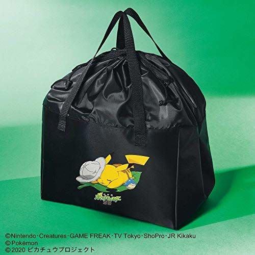 ☆Juicy☆日本smart雜誌附錄 神奇寶貝 皮卡丘 精靈寶可夢 束口 托特包 購物袋 單肩包 旅行袋 2100