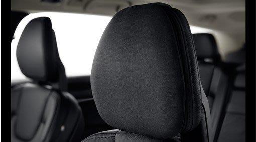 Volvo 富豪 原廠 選配 純正 部品 全車系 高質感 新款 黑色 頭枕 抱枕 透氣 80% 羊毛成分 S60