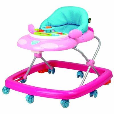 《凱西寶貝》Vivibaby汽車造型學步車 Car Baby Walker ( 粉紅 )