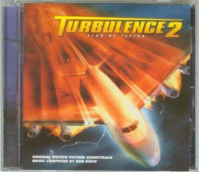"""[原聲帶]-""""危機任務 2(Turbulence 2-Fear of Flying)""""- Don Davis,美版"""