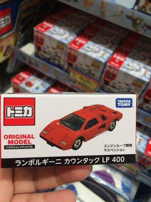 Tomica Shop 藍寶堅尼 Lamborghini Countach Lp400 日版 紅牛~小太陽日本精品