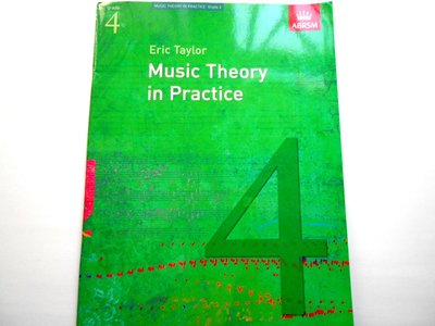 ABRSM Grade 4 Eric Taylor Music Theory in Practice 鋼琴 琴譜