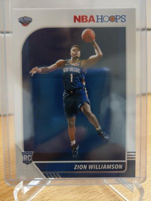 Zion Williamson 2019-20 hoops RC