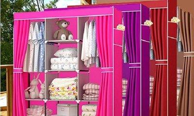 簡易DIY衣櫃  衣櫥 DIY組合衣櫃 防塵衣櫥 鞋櫃 收納櫃 置物架 衣物收納箱