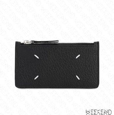 【WEEKEND】 MAISON MARGIELA Card Wallet 皮夾 卡夾 黑色