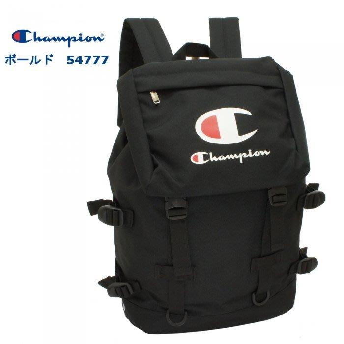 Champion 54777 後背包 翻蓋 束口 插釦 書包 22L 大LOGO 新款 正品♡LUCI日本代購♡