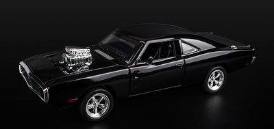 1:32 1970道奇 Charger Dodge模型 回力車 玩具車跑車 玩命關頭 Fast and Furious