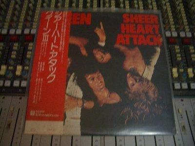 QUEEN 皇后合唱團 SHEER HEART ATTACK 黑膠唱片(PINK FLOYD.LED ZEPPELIN)