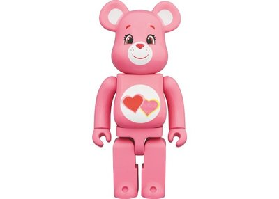 金錢貓雜貨 全新 Be@rbrick 400% Care Bears Love a Lot Bear 愛心熊