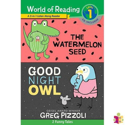 [文閲原版]閱讀世界1 英文原版 World of Reading Watermelon Seed, The and G