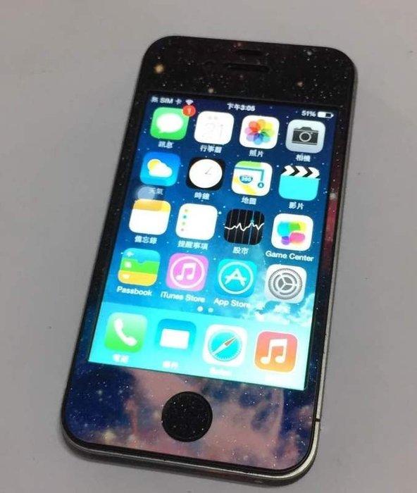 ☆手機寶藏點☆iphone4 16G 7.1.2 夢幻星空 實體拍攝 $2,300 羅a46