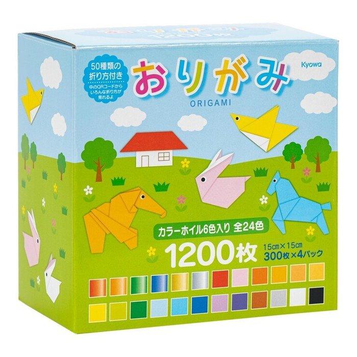 【小如的店】COSTCO好市多線上代購~日本 Origami 彩色折紙(300張X4入)