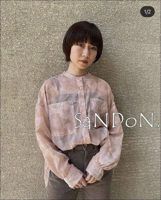 SaNDoN x『MOUSSY』春季新品 正規品暈染復古大理石色系襯衫 SLY 210403