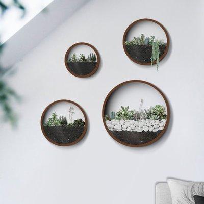 大款景觀布置造景壁飾 裝飾架 花盆 盆...