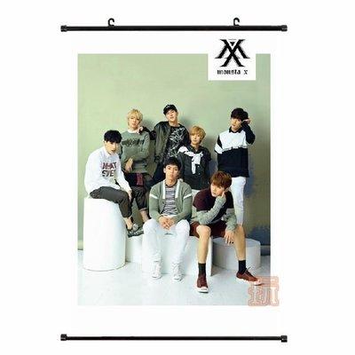 現貨出清特價👍MONSTA X 大掛畫 布面海報E652-A【玩之內】韓國