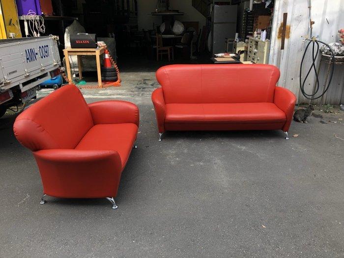 非凡二手家具 全新小丸子2+3人座沙發組*客廳沙發*皮沙發*洽談沙發*辦公沙發*二手沙發*精品沙發*全新沙發