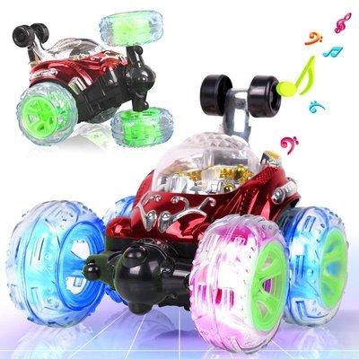 【優上精品】翻鬥車遙控車翻滾特技車越野車遙控汽車充電動模型兒童玩具車男孩(Z-P3205)