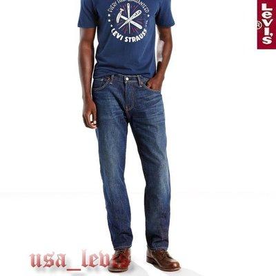 【彈性舒適新款30-42腰】美國LEVI S 541 Athletic End Zone 深藍貓鬚運動微錐型中直筒牛仔褲