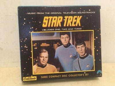 star trek music from the original television soundtracks 星艦迷航記 精裝版本盒裝3CD