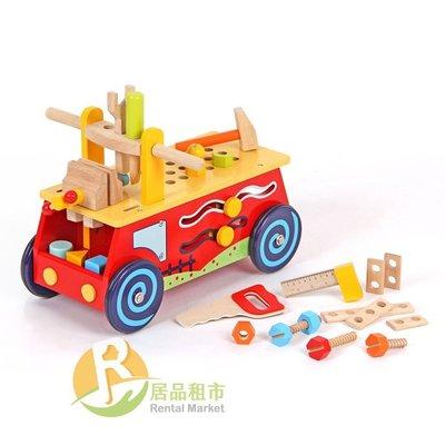 【居品租市】 專業出租平台 【出租】  mentari 木頭玩具 小工匠工具滑步車